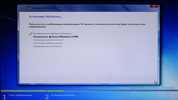 Windows 7 как установить